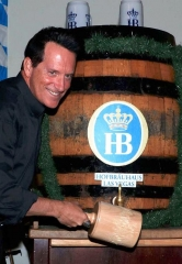Oktoberfest Celebrations Continue at Hofbräuhaus Las Vegas with Celebrity Keg Tappers Anthony Cools and Nathan Burton