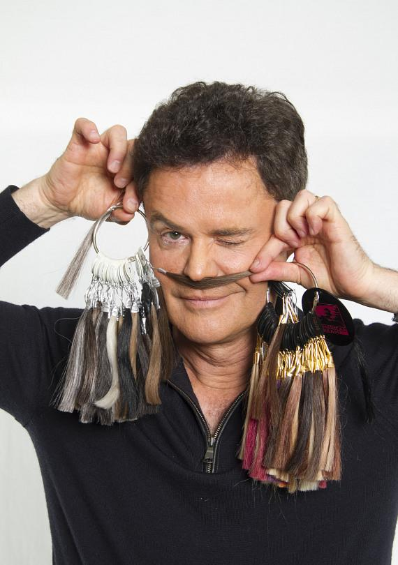 Donny Osmond with a mustache?