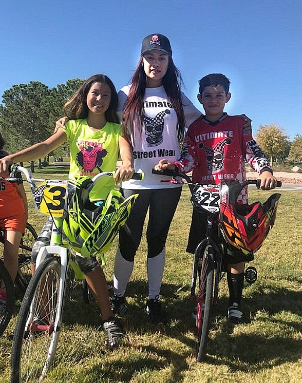 Model/Dancer Dixie Miranda Attends Ultimate Streetwear BMX Sports Team Event in Las Vegas