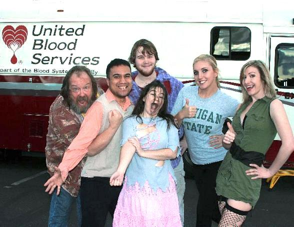 EVIL DEAD Helps to Collect Dozens of Units of Blood for United Blood Services