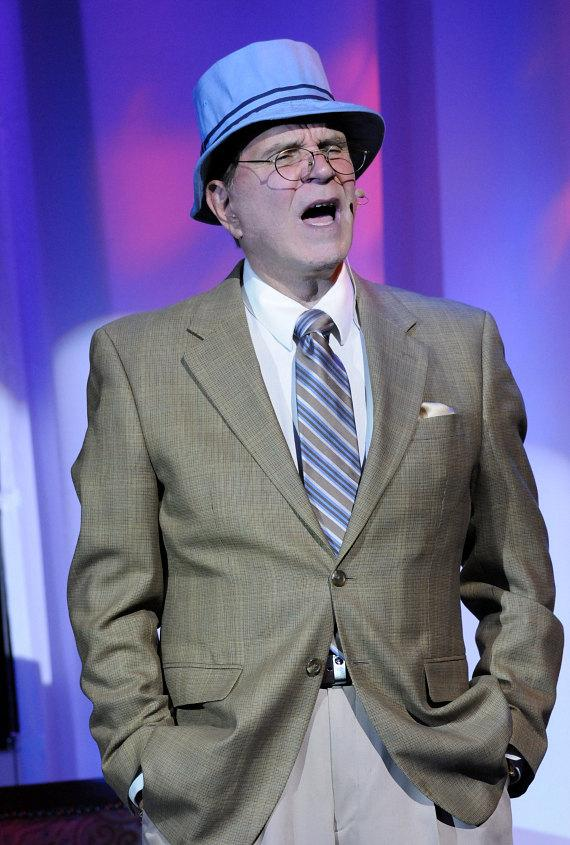 Rich Little performs at LVH - Las Vegas Hotel & Casino