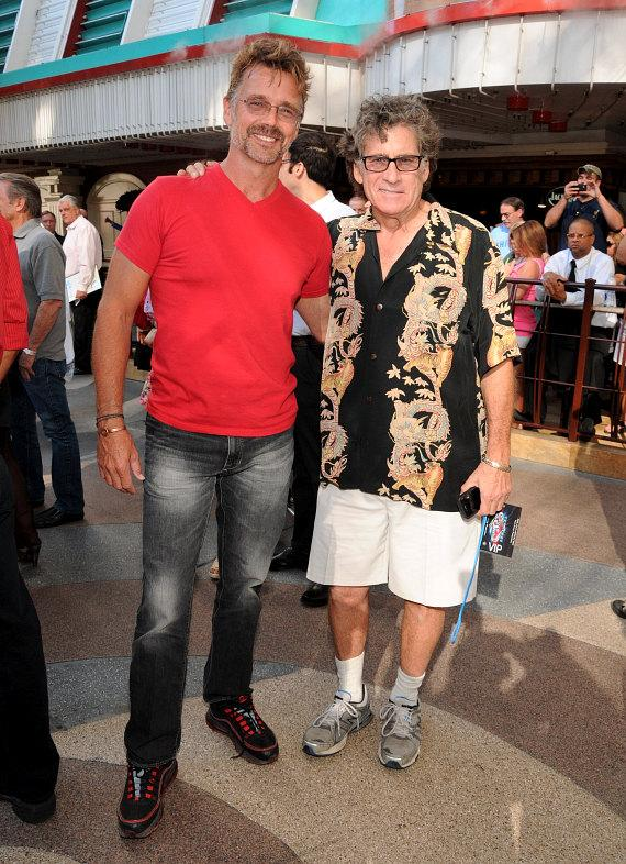 John Schneider with Paul Michael Glaser (Starsky & Hutch)