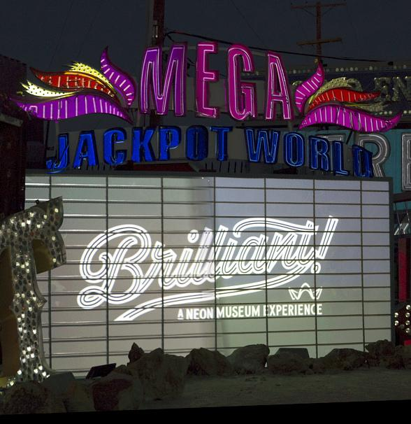 "Neon Museum Offers Guests the Chance to Tour Neon Boneyard, See ""Brilliant!"" in One Visit with New Combination Ticket"