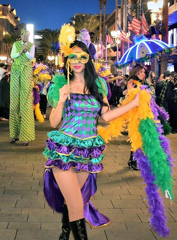 The LINQ Promenade Celebrates Mardi Gras with New Orleans-Style Parades, Live Entertainment, Festive Light Show on Feb. 13