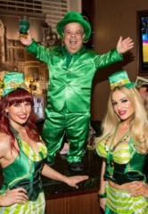 O'Sheas BLOQ Party at the LINQ Promenade Hosts Las Vegas' Ultimate St. Patrick's Day Celebration