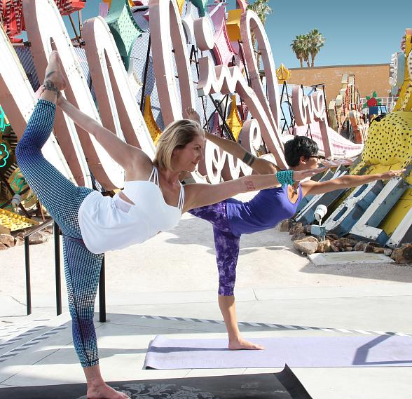 Neon Museum to Host Pop-Up Hot Yoga Sessions in the Boneyard this Summer