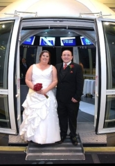 """Las Vegas Couple Justin Brittingham and Heather Bagley Say, """"I Do,"""" Becoming First Couple to be Married on The Palindromic Date Of 8/1/18"""