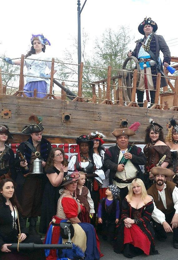 The 7th Annual Pirate Fest at Craig Ranch Regional Park Features Live Entertainment, Food, Games, and Beer Garden April 27 & 28
