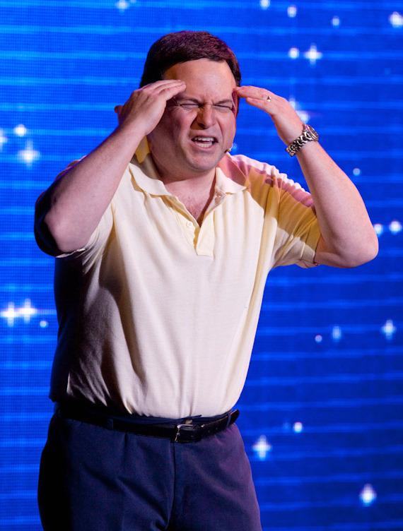 """""""Seinfeld's"""" Jason Alexander performs """"Donny Clay"""" at Planet Hollywood"""