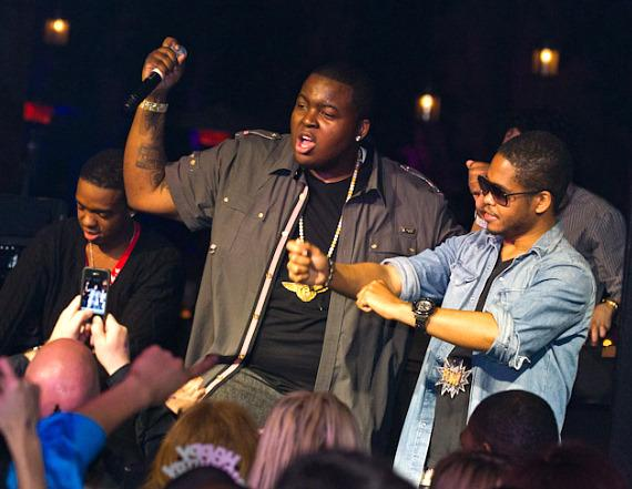 Sean Kingston celebrates 21st Birthday at Tryst Nightclub