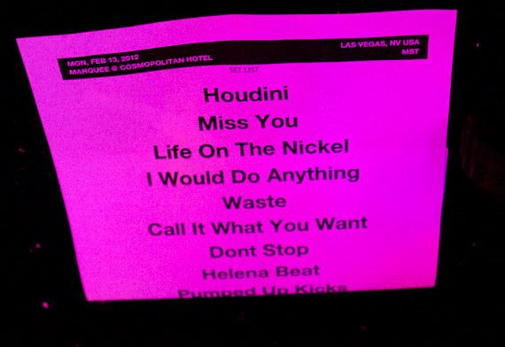 Foster The People set list