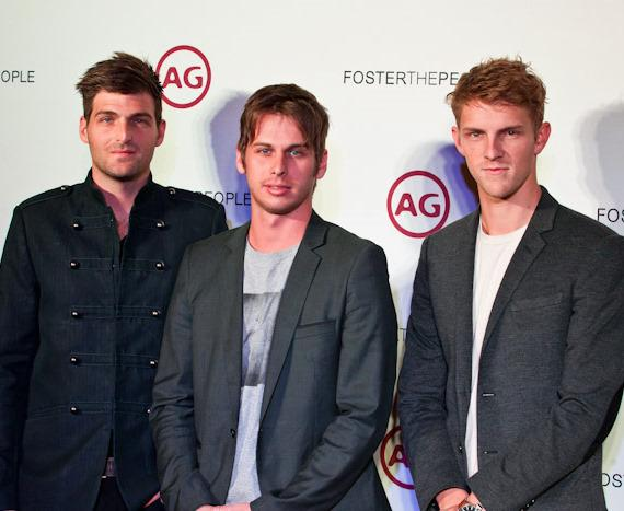 Foster The People on red carpet at Marquee Nightclub
