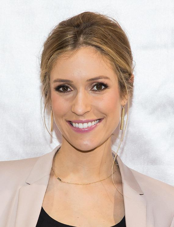 Kristin Cavallari promotes Chinese Laundry Shoes at MAGIC Convention in Las Vegas