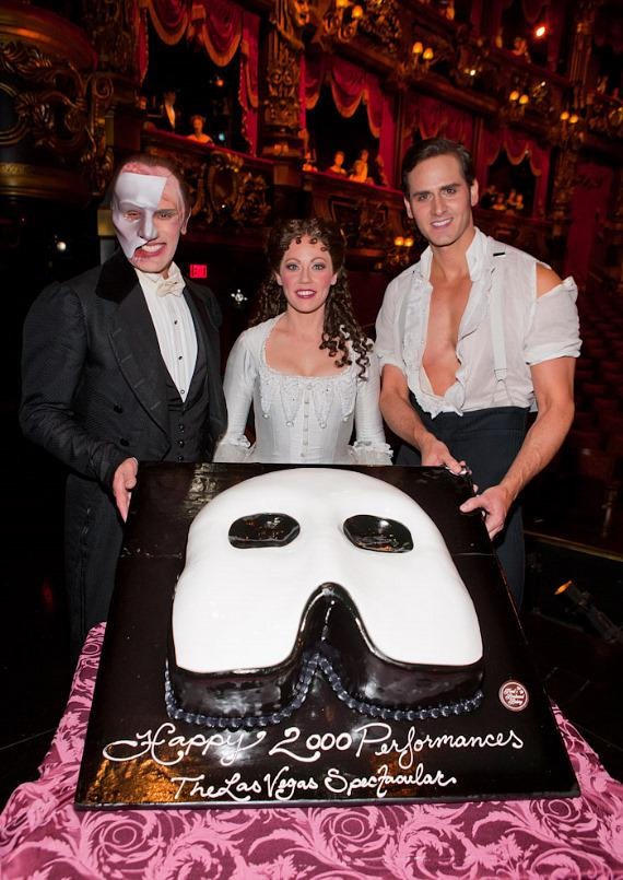 "Anthony Crivello -""The Phantom,"" Kristi Holden -""Christine,"" and Andrew Ragone -""Raoul""."