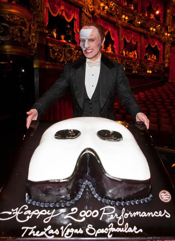 Phantom The Vegas Spectacular celebrates its 2000th show at The Venetian
