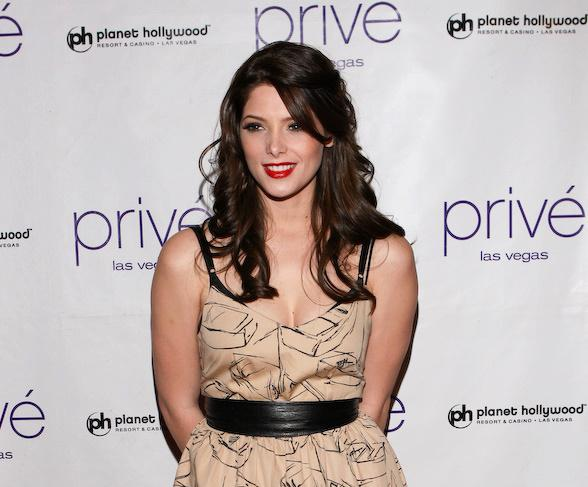 Ashley Greene celebrates her birthday at Privé Las Vegas
