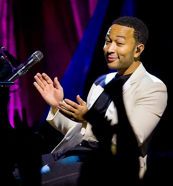 John Legend performs at Brooklyn Bowl Las Vegas