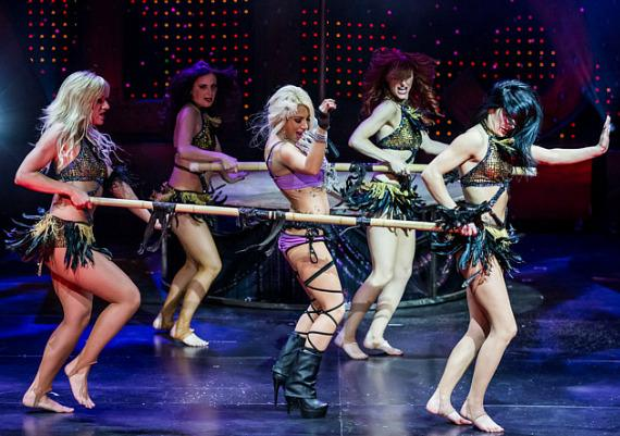 Daisy De La Hoya Stars in iCandy The Show at the Saxe Theater in Las Vegas