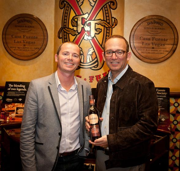 Glenfiddich and Brand Ambassador Mitch Bechard with Michael Frey, proprietor of Casa Fuente