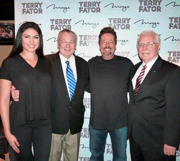 Surprise Presentation During Terry Fator's Show at The Mirage