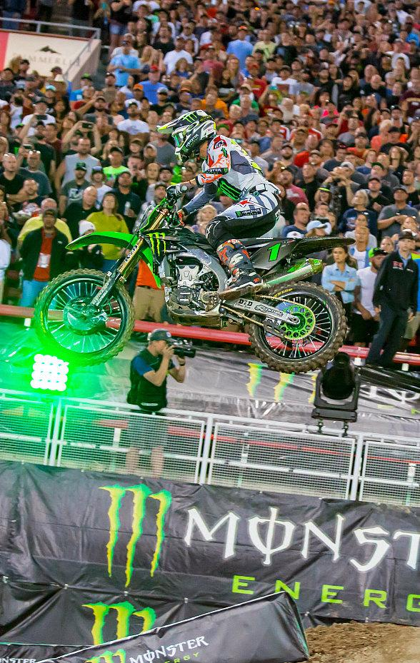 Million-Dollar All-Star Monster Energy Cup Event Invades Las Vegas For Eighth Year on October 13 at Sam Boyd Stadium