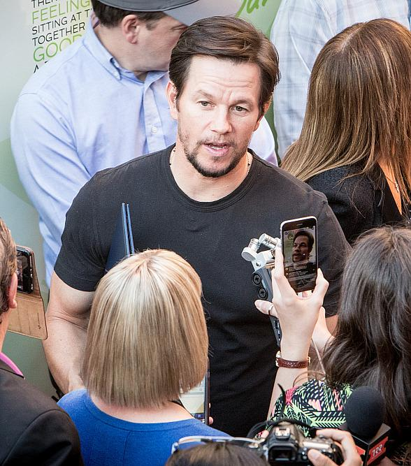 Wahlburgers Las Vegas at Grand Bazaar Shops Hosts VIP Party and Red Carpet Appearance by Mark and Paul Wahlberg