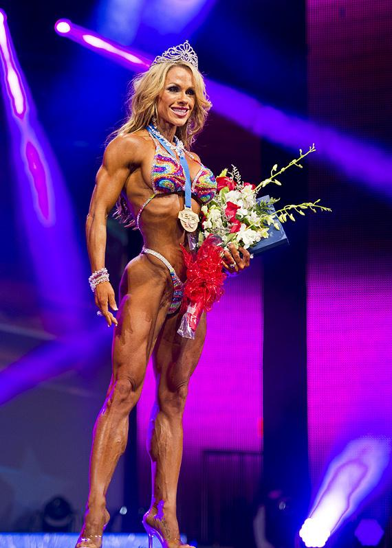 2013 WBFF Figure Pro World Champion Monica Brant