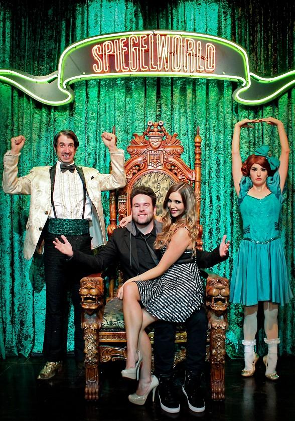 "Scheana Marie of Bravo's ""Vanderpump Rules"" Joins the Raucous Fun of ABSINTHE in Las Vegas"