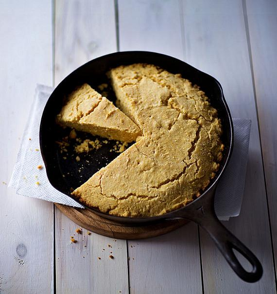 Southern Cornbread from Mario Batali's Cookbook