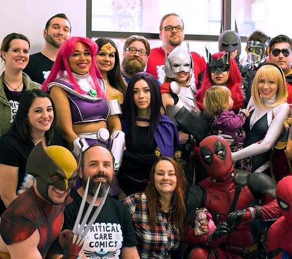 Escape Reality Vegas Kicks off Fundraising Program; Escape Room Supports Local Charities: Wagging Tails and Critical Care Comics, with Donations and Comic Book Drive