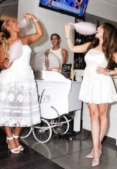 Andiron Steak & Sea's White Party Starts off Summer with a Sizzling Soiree June 9