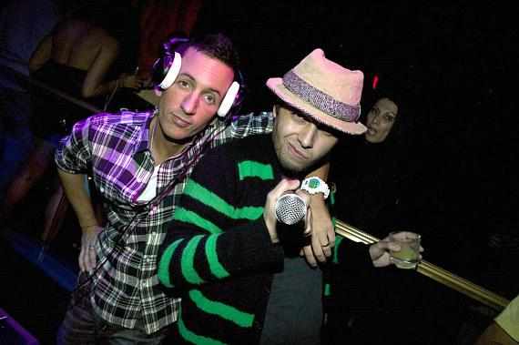DJ Clinton Sparks and Pittsburgh Slim at Body English