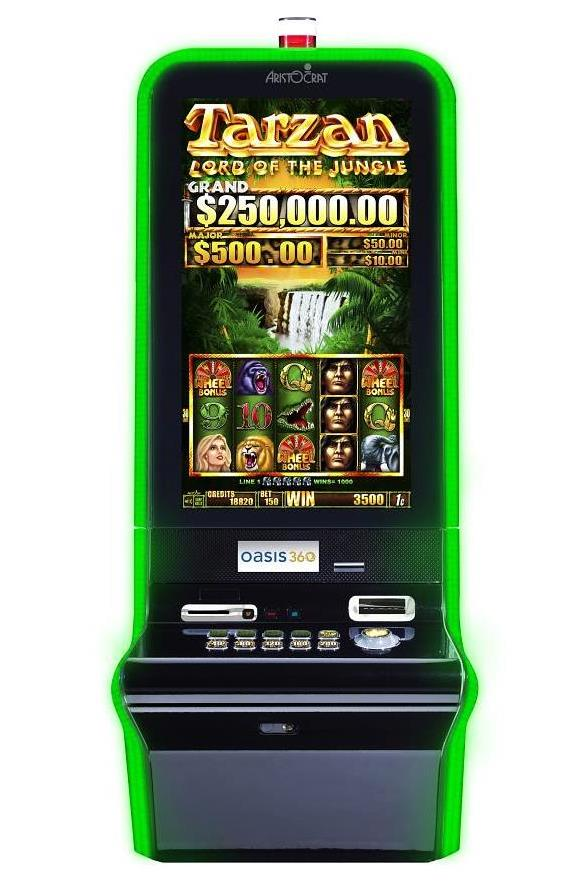 Aristocrat's New Video Slot Game: Tarzan Lord of the Jungle