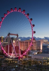 Lucky Couple to Be the First to Marry at Midnight on 8/1/18 on the High Roller Observation Wheel