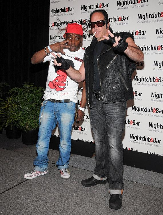 Coolio and Andrew Dice Clay