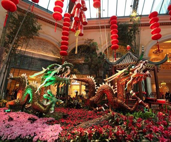 Celebrate Chinese New Year at Bellagio's Conservatory & Botanical Gardens