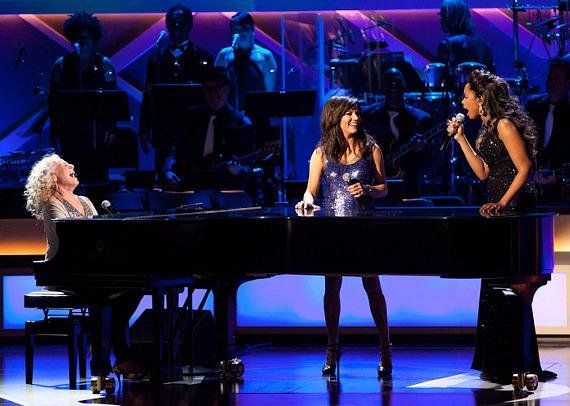 Carole King, Martina McBride and Jennifer Hudson