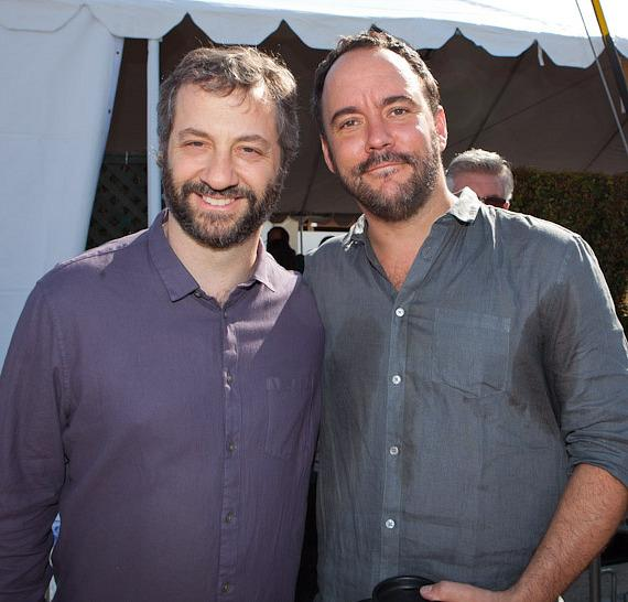Judd Apatow with Dave Matthews