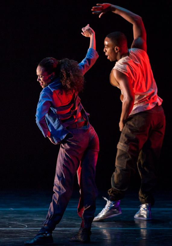 The Alvin Ailey American Dance Theater performs at The Smith Center in Las Vegas