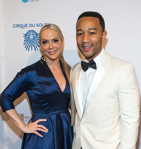 Catherine B. Bach and & John Legend