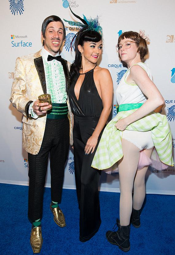 Cast of ABSINTHE: Gazllionaire, Melody Sweet and Penny Pibbets