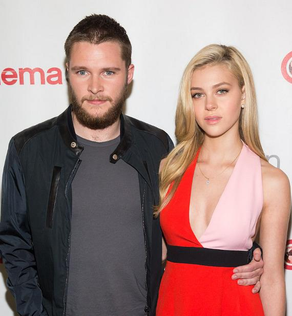 Jack Reynor and Nicola Peltz at CinemaCon 2014 at The Colosseum of Caesars Palace in Las Vegas