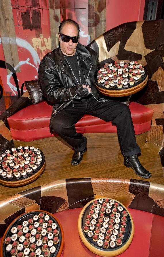 Clay and the 200 cupcakes given to his as a joke about the Apprentice show