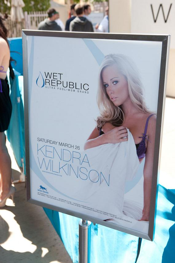Kendra Wilkinson at WET REPUBLIC