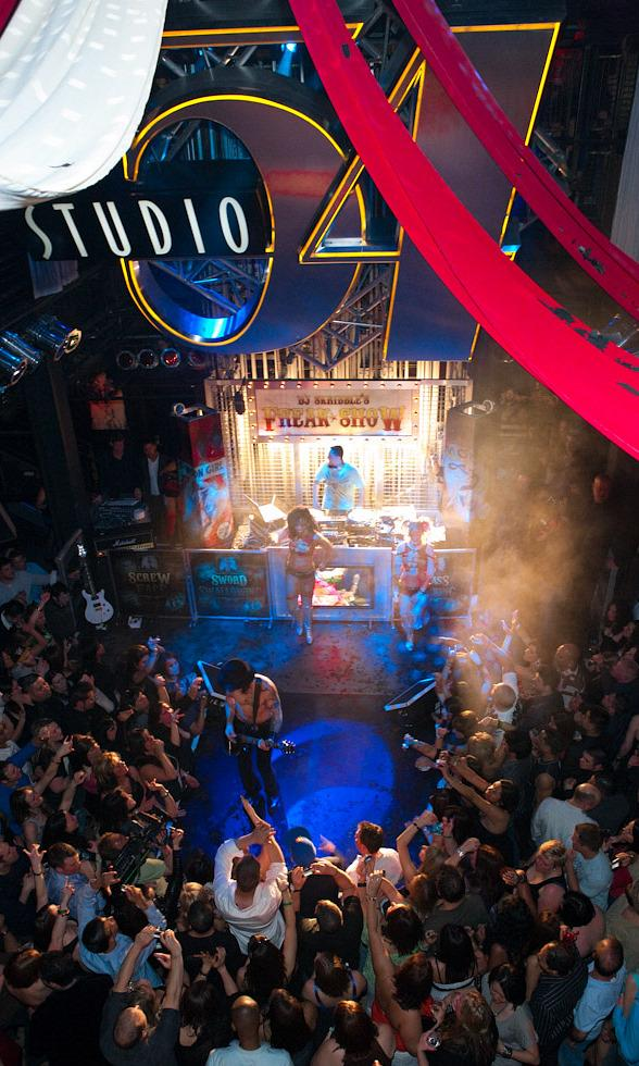 Dave Navarro Rocks Out with DJ Skribble at Studio 54