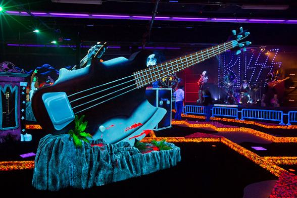 A Look Inside KISS by Monster Mini Golf in Las Vegas