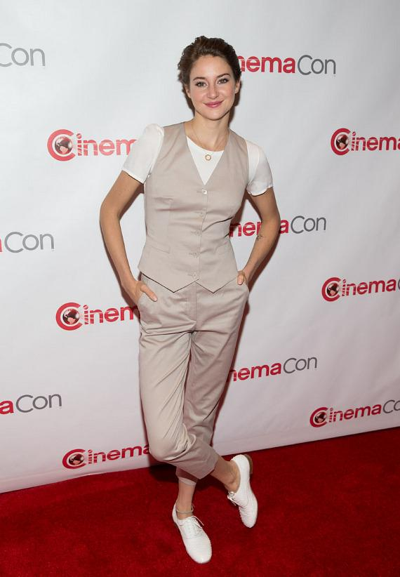 Shailene Woodley at CinemaCon 2014