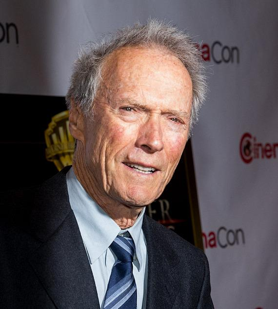 Clint Eastwood at CinemaCon 2014