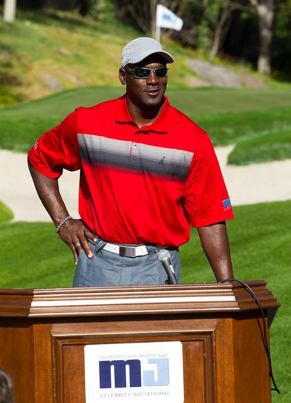 Micheal Jordan Kicks off the 10th Annual Michael Jordan Celebrity Invitational Golf Tournament