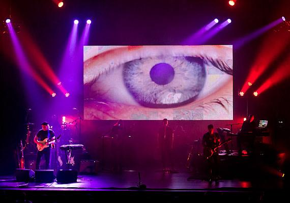 The Pink Floyd Experience performs at Reynolds Hall at The Smith Center for the Performing Arts
